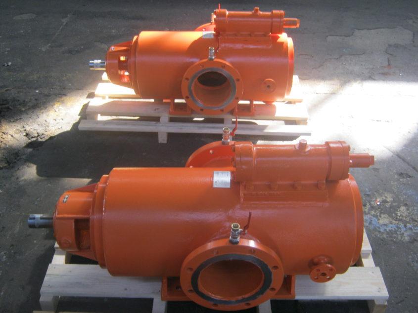 screw spindle pump